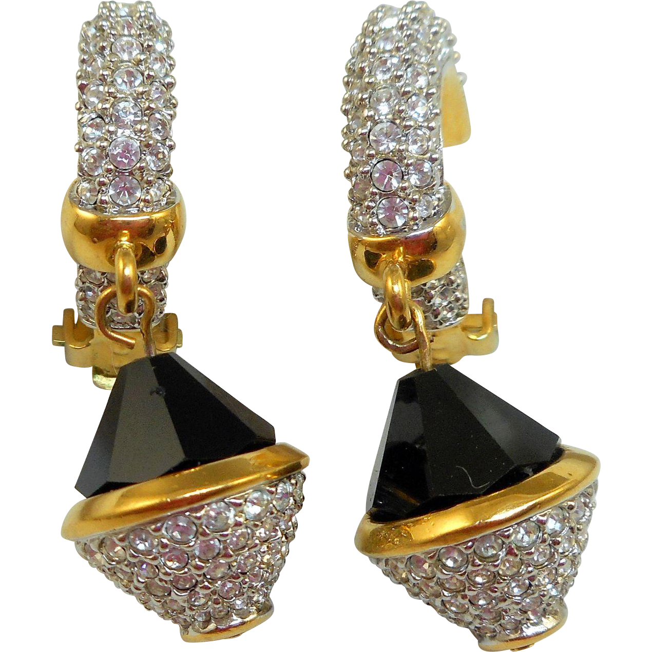 Vintage Swarovski Earrings