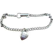 Beta Sigma Phi Welcome Charm Bracelet
