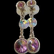 Dangly Swarovski Earrings