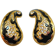 Swarovski Paisley Earrings