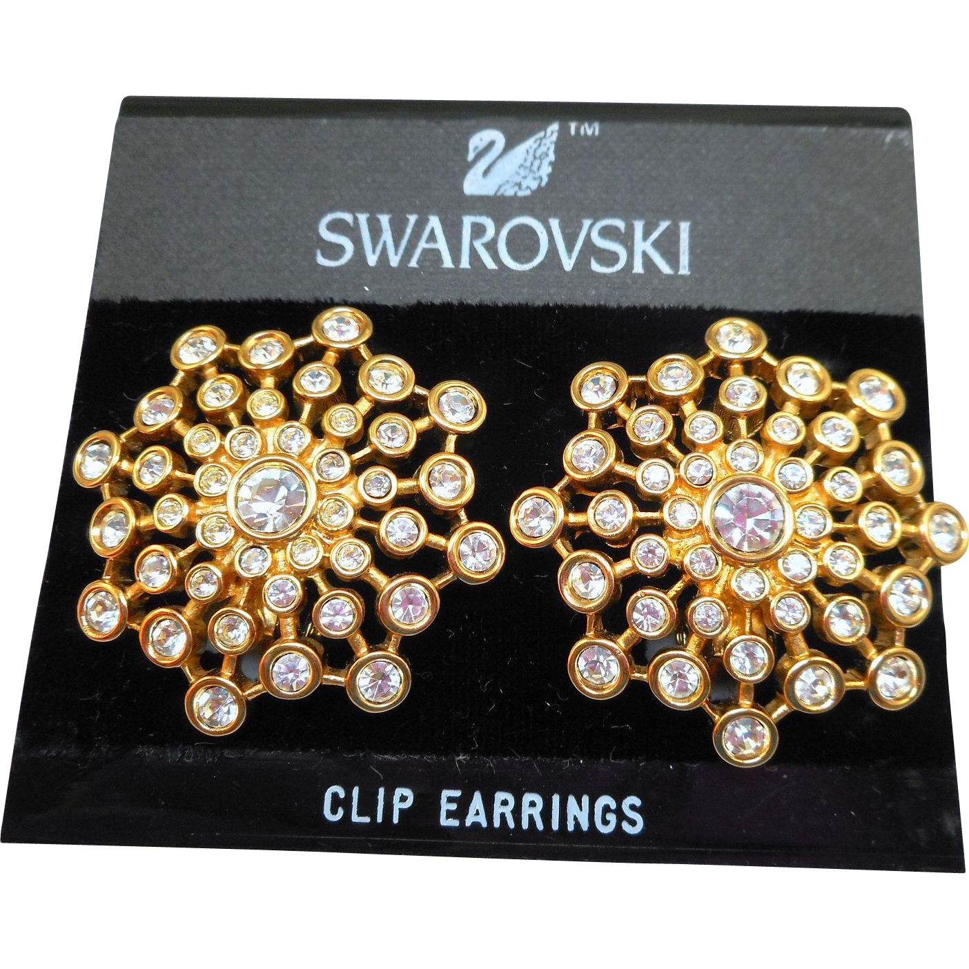 Swarovski Runway Earrings