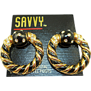 Swarovski Savvy Hoop Earrings