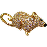 Swarovski Mouse Pin