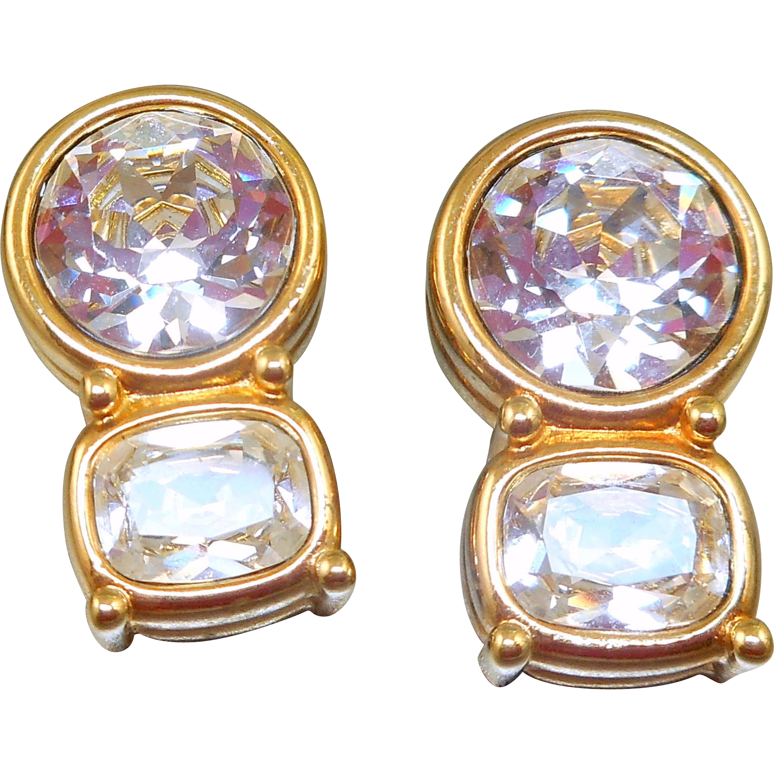 Swarovski Rhinestone Earrings
