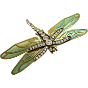 Kenneth J Lane Dragonfly Brooch