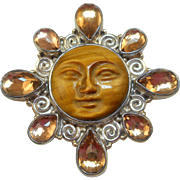 Sajen Moon Goddess Pin/Pendant