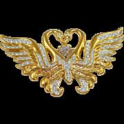 Nolan Miller Swans Pin