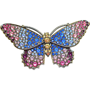 Kenneth J Lane Butterfly Pin