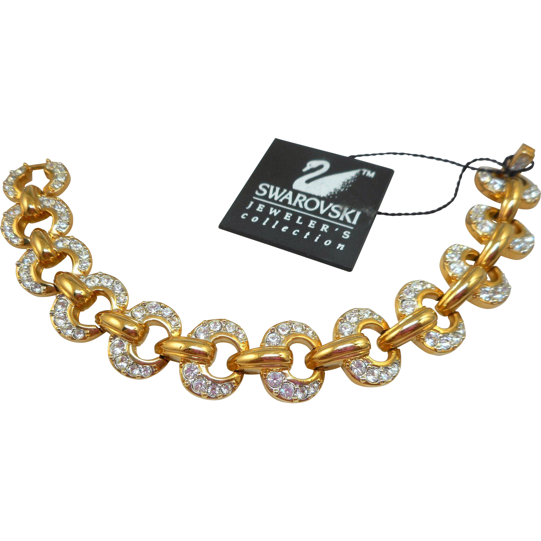 NOS Swarovski Bracelet
