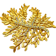 Danecraft Fern Leaf Pin