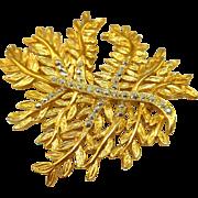 Danecraft Fern Leaf Pin