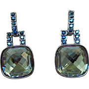 Givenchy Blue Earrings