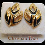 NOS Christian Dior Earrings - MOC