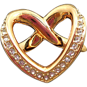 Swarovski Heart Ring - MIB