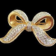 Swarovski Bow Pin