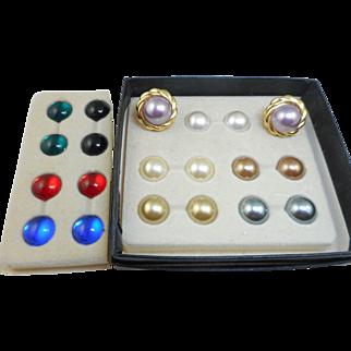 Kenneth J Lane Convertible Earrings Set