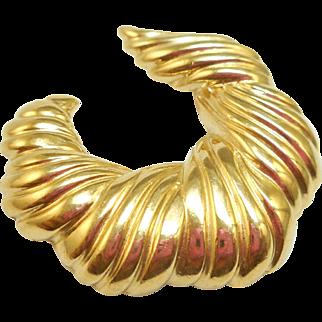 Trifari Crescent Pin