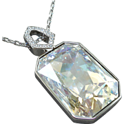Swarovski Reversible Pendant Necklace