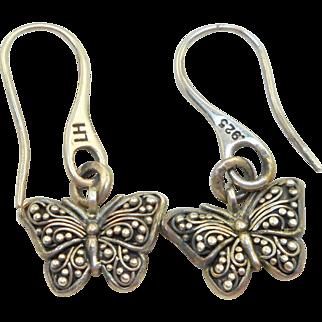 Lois Hill Butterfly Earrings