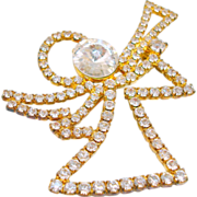 Eisenberg Ice Angel Brooch