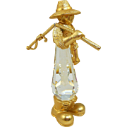 Swarovski Trimlite Fisherman Figurine