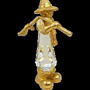 Swarovski Trimlite Fisherman Figurine