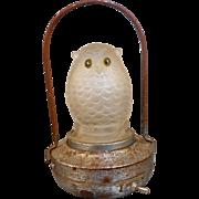 Halloween Owl Lantern - Vintage