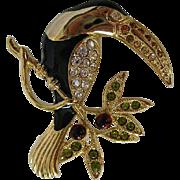 Vintage Monet Toucan Pin