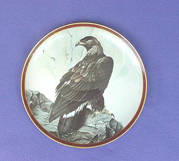 Vintage Golden Eagle China Plate
