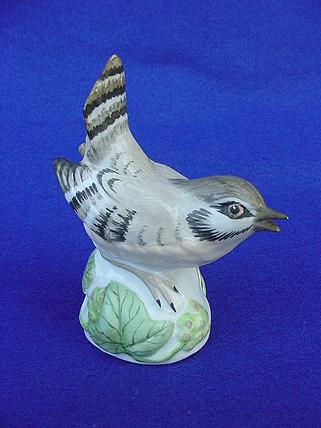 Vintage Crown Staffordshire House Wren Figurine