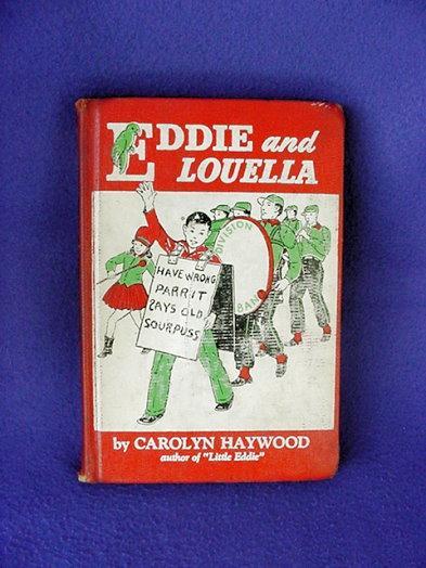 Mid Century Eddie and Louella Parrot Children's Book