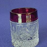 Hofbauer Byrdes Schnapps / Shot Glass Set