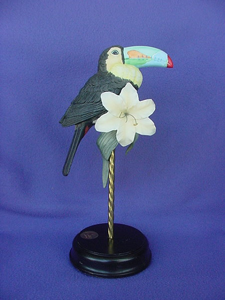 Vintage Willits Galleries Toucan Figurine