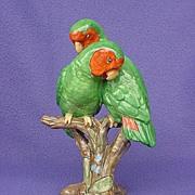 Vintage Spode Copeland Lovebird Figurine - Red Tag Sale Item
