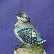 Vintage Boehm Baby Blue Jay Figurine
