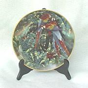 1994 Lenox Scarlet Macaw Plate