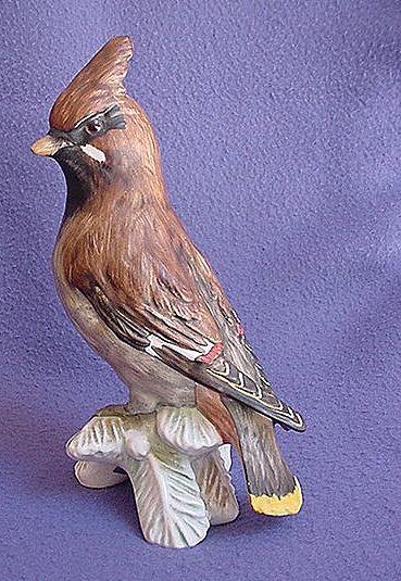 Vintage Goebel Waxwing Figurine