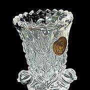 Byrdes Crystal Toothpick Holder / Bud Vase