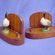 Vintage Canada Goose Bookends