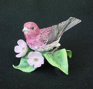 Lenox China Purple Finch Figurine