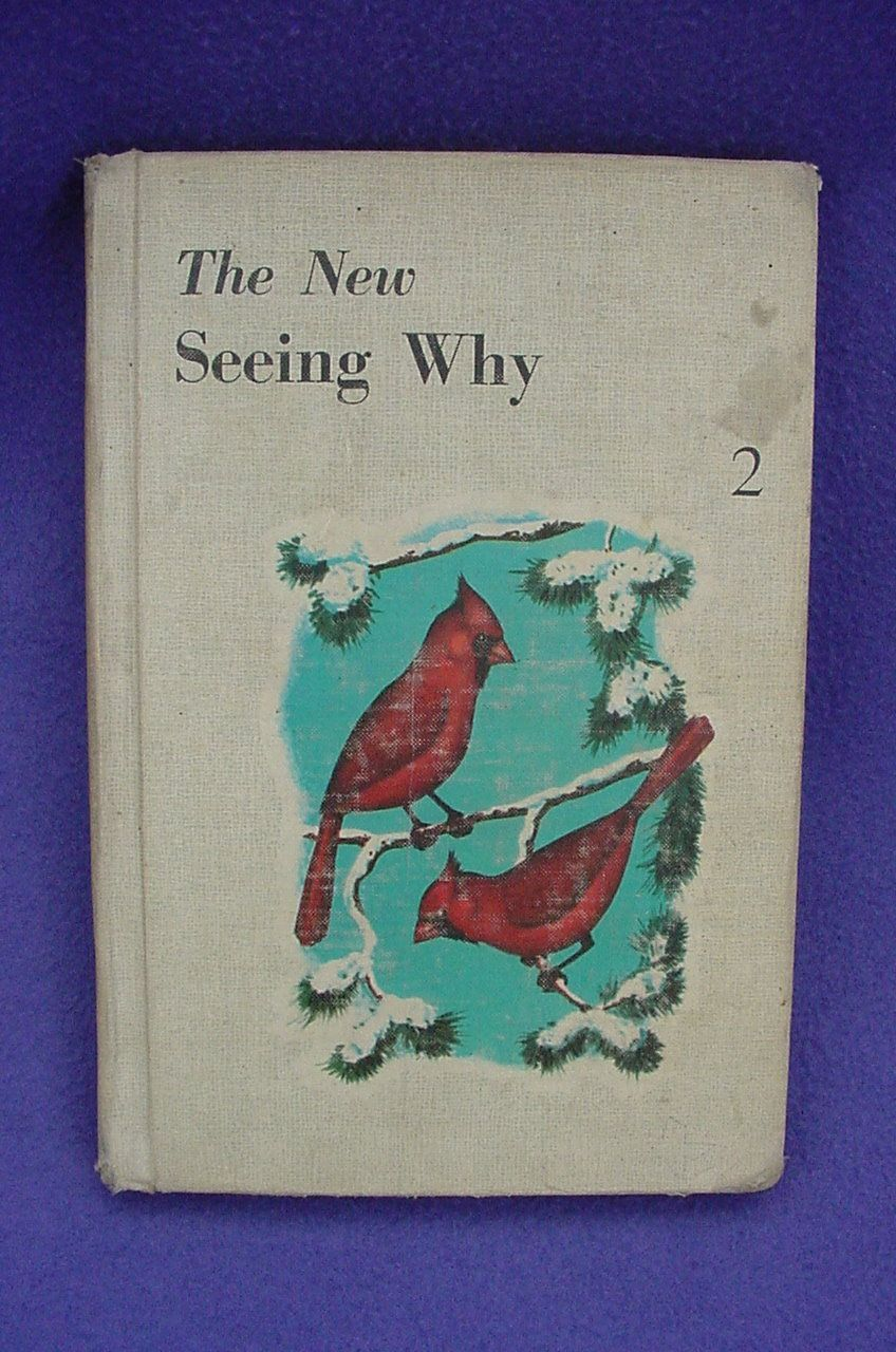 Seeing Why Vintage Children's Book Cardinal