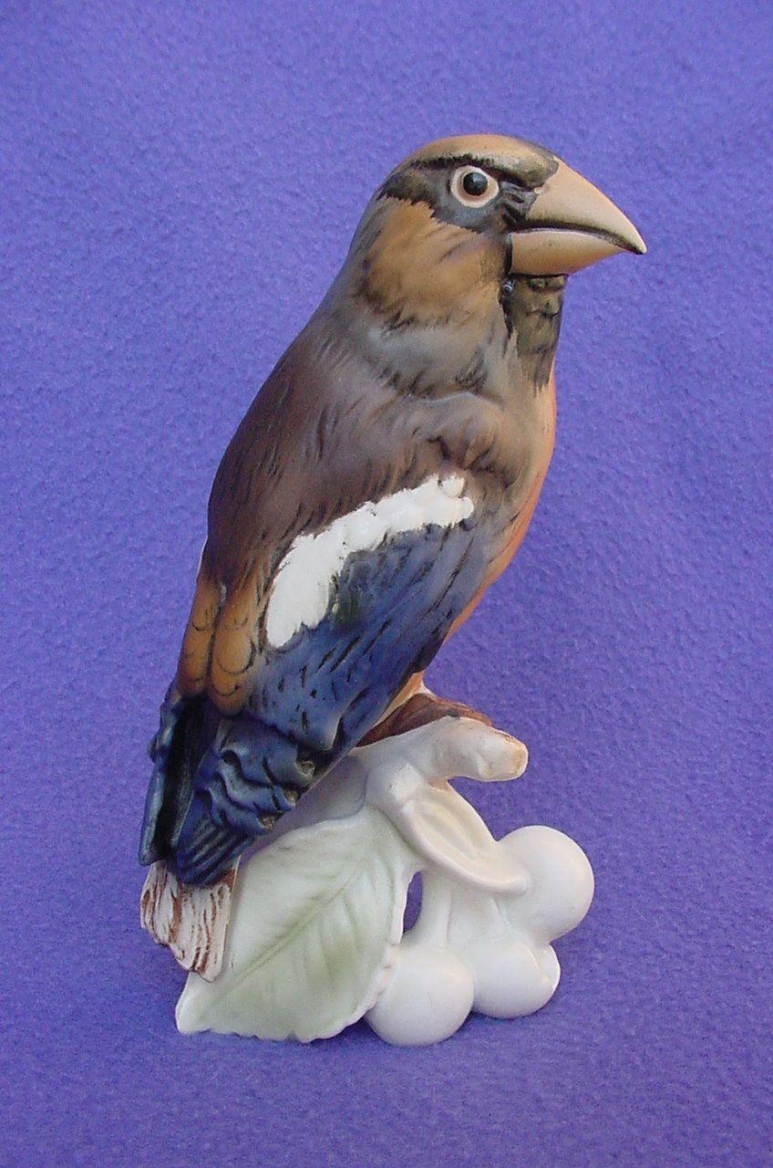 Vintage Goebel Hawfinch Figurine