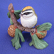 Vintage Female Kinglet Figurine by Lenox