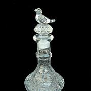 Byrdes Crystal Perfume Bottle from Germany