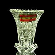 Byrdes Crystal Small Bud Vase