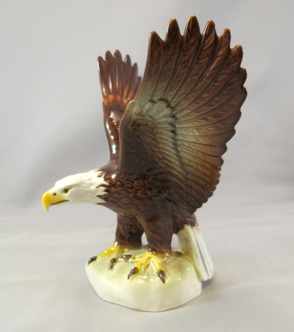 Goebel West Germany Vintage Bald Eagle Figure