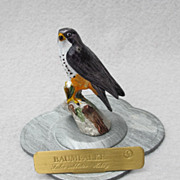 Mini Pewter Hobby Falcon from Germany