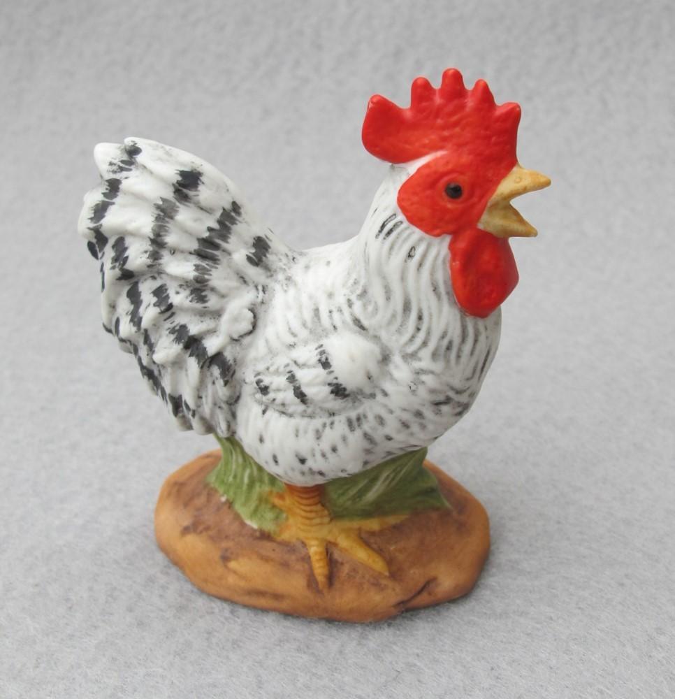 Mini Lefton Rooster Figurine