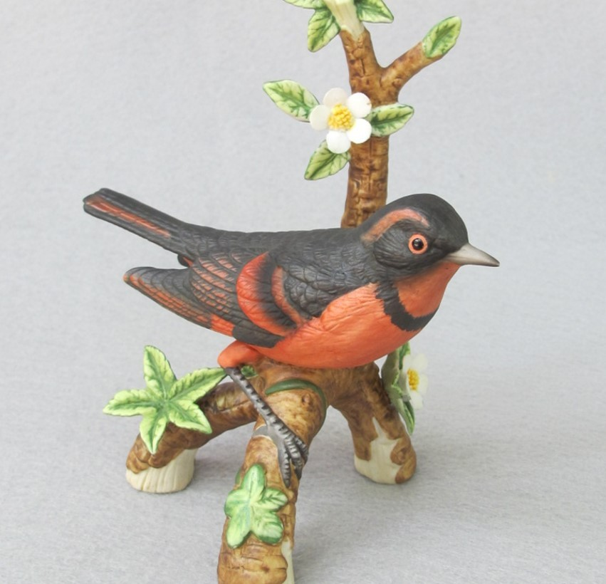 Danbury Mint Varied Thrush Figurine