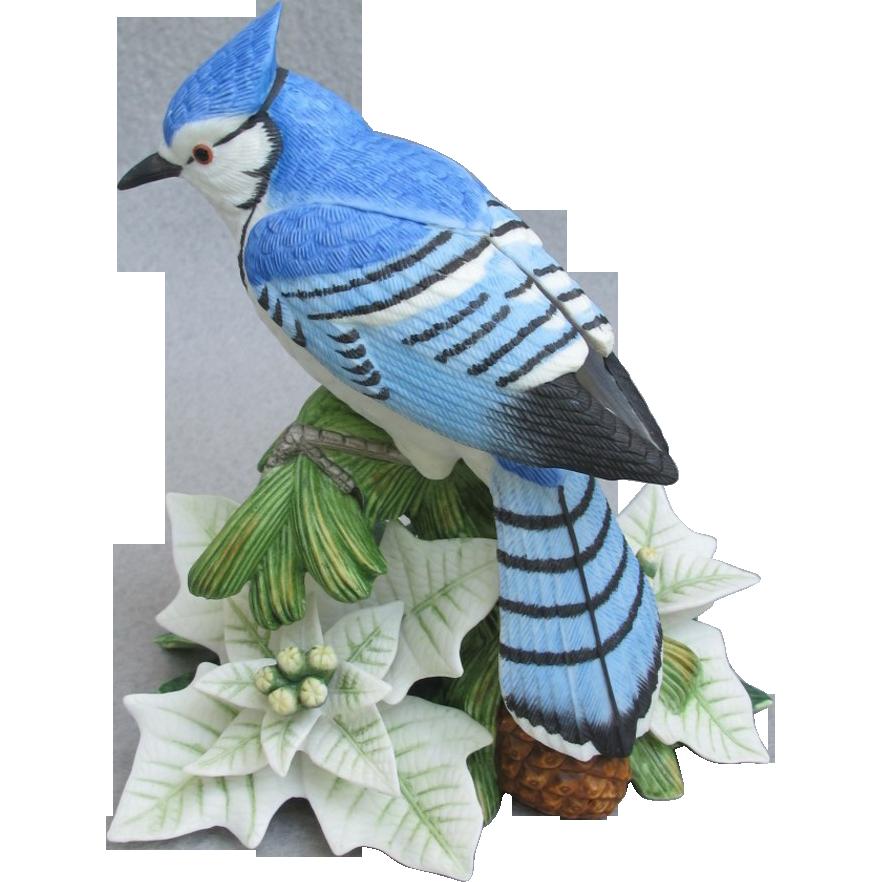 Lenox Christmas Male Blue Jay Figurine